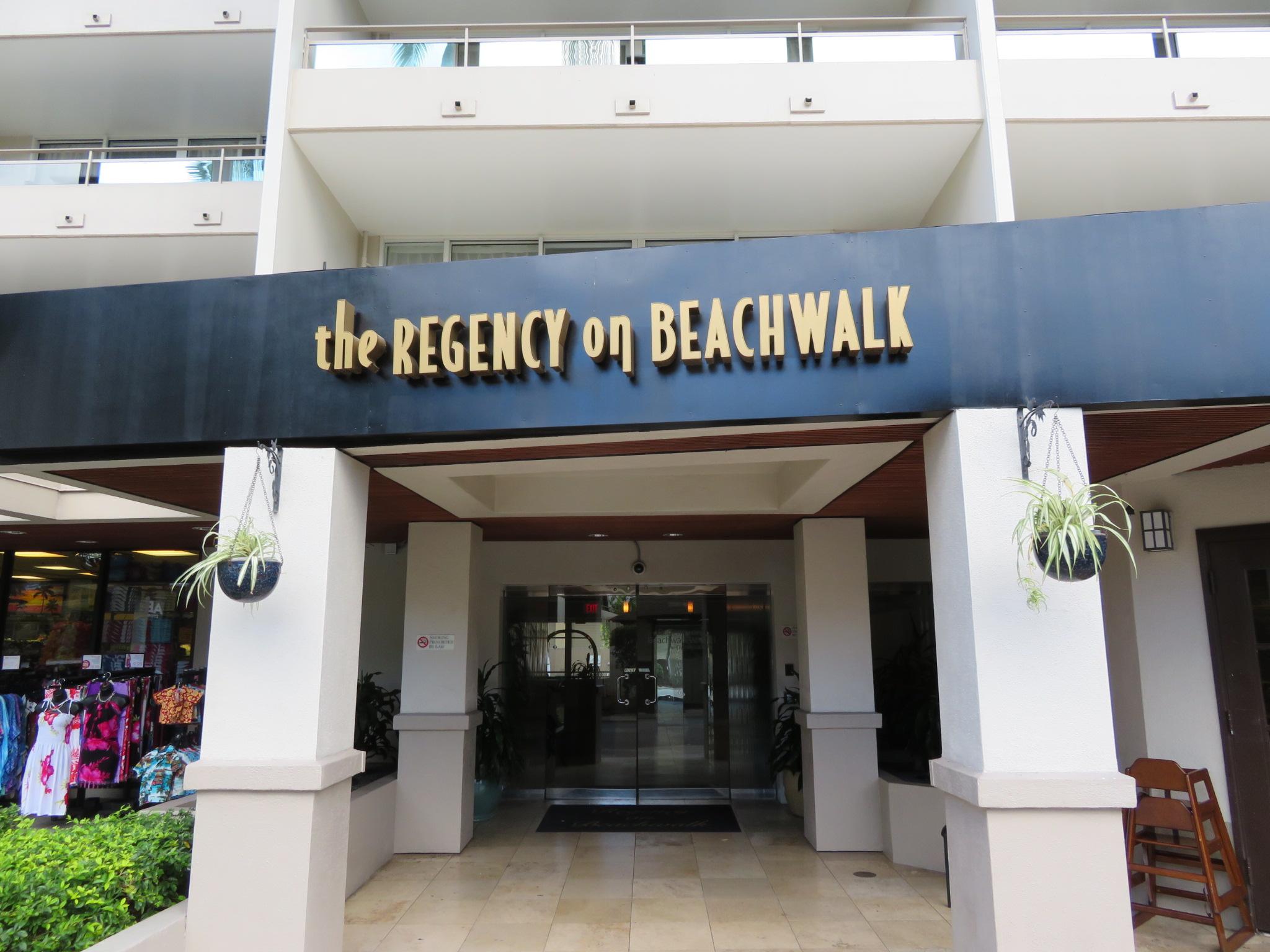リージェンシー・オン・ビーチウォーク / Regency on  Beachwalk Waikiki