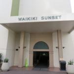 ワイキキ・サンセット / Waikiki Sunset