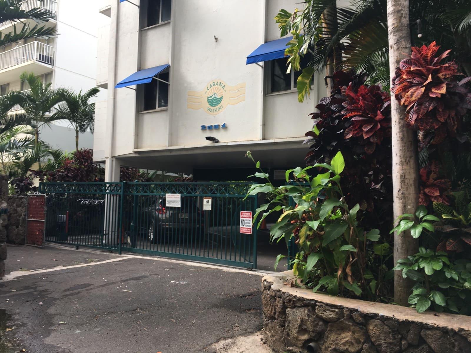 Cabana At Waikikiのエントランス
