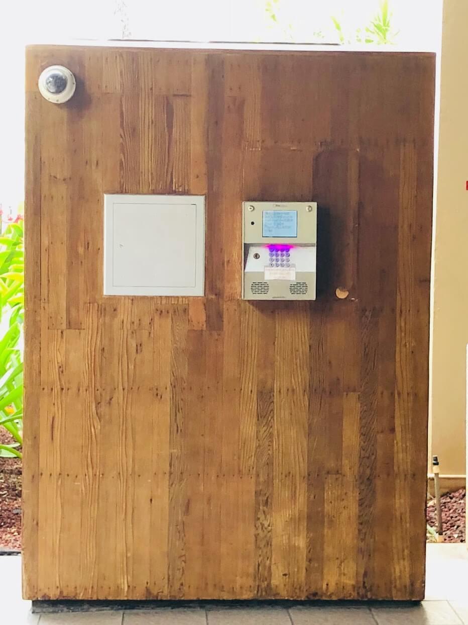 Chateau Waikikiのコール