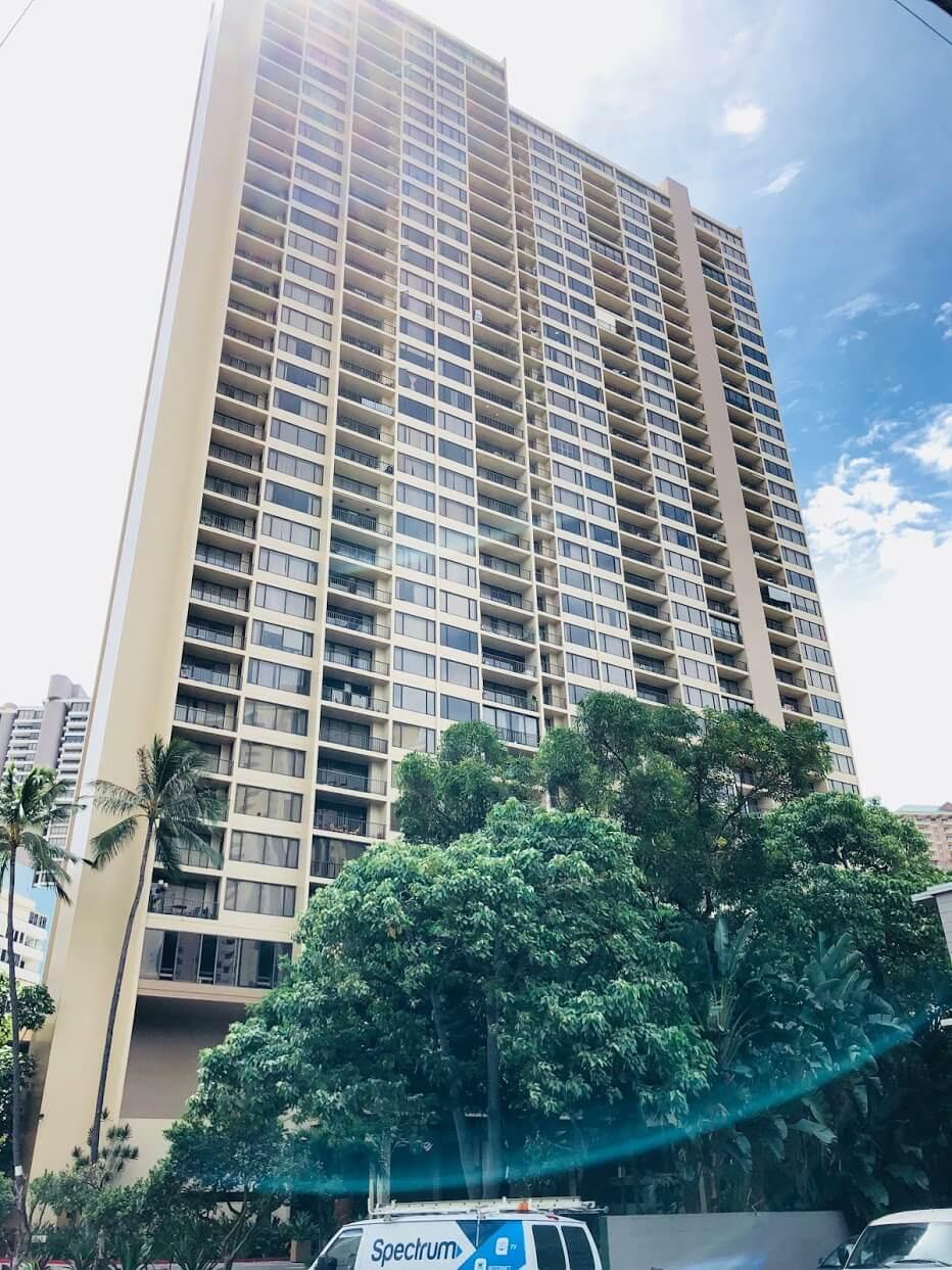 Chateau Waikikiの外観