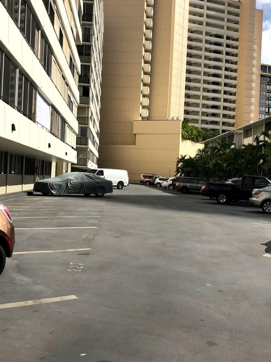 Kaliaの駐車場