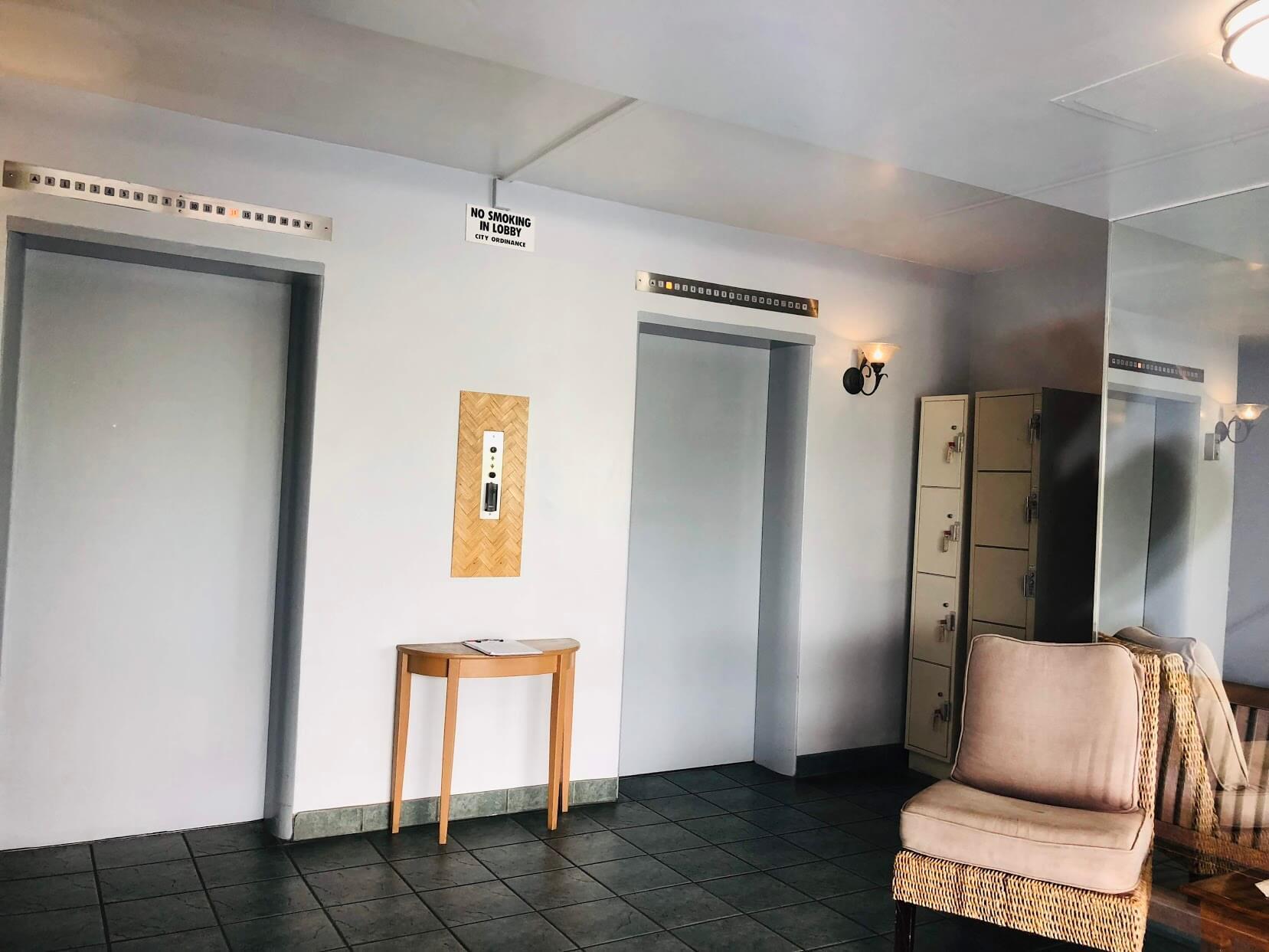 2233 Ala Waiのエレベーター