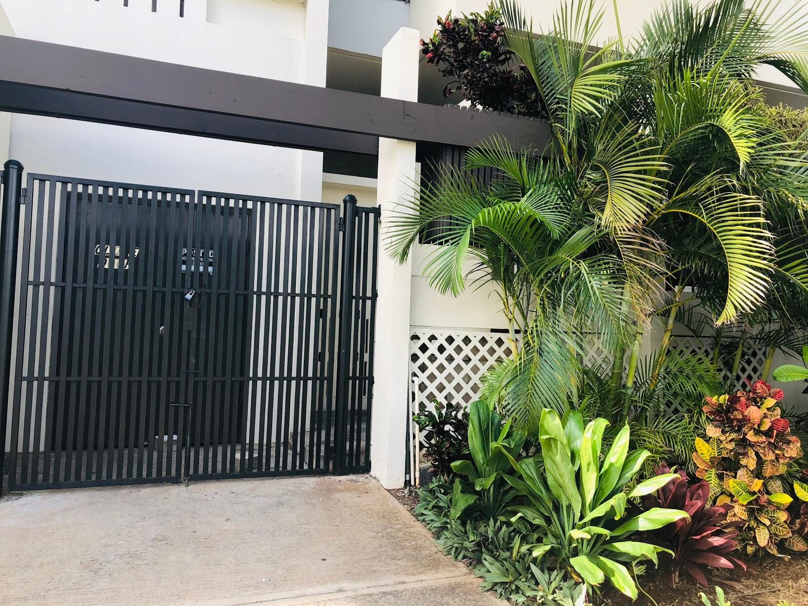 Ala Wai Mansionのエントランス