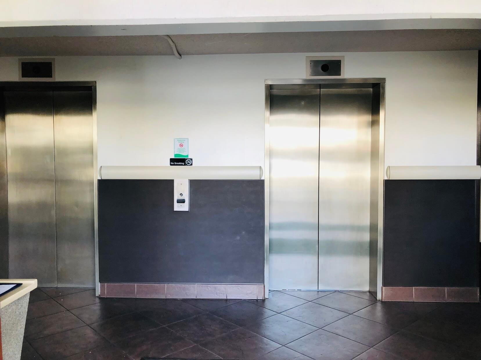 Atkinson Plazaのエレベーター