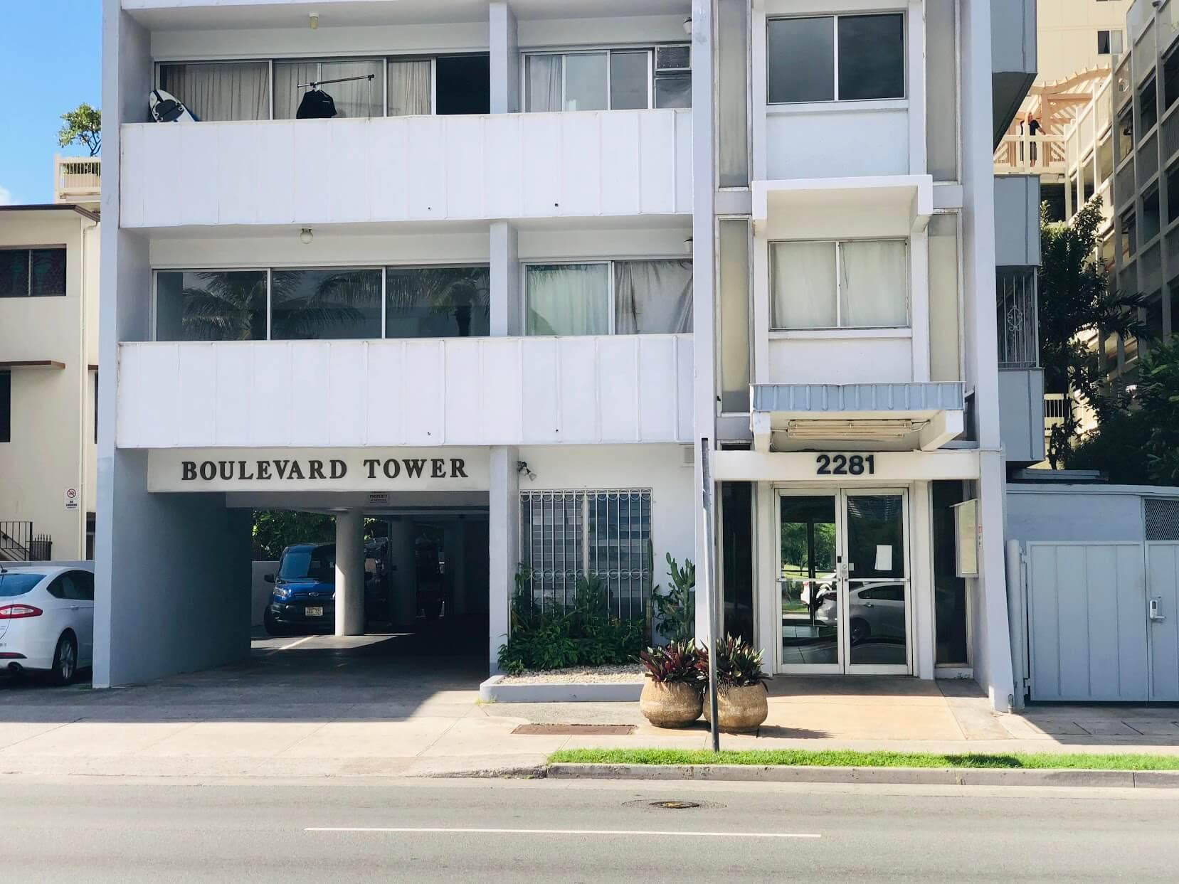 Boulevard Towermの外観