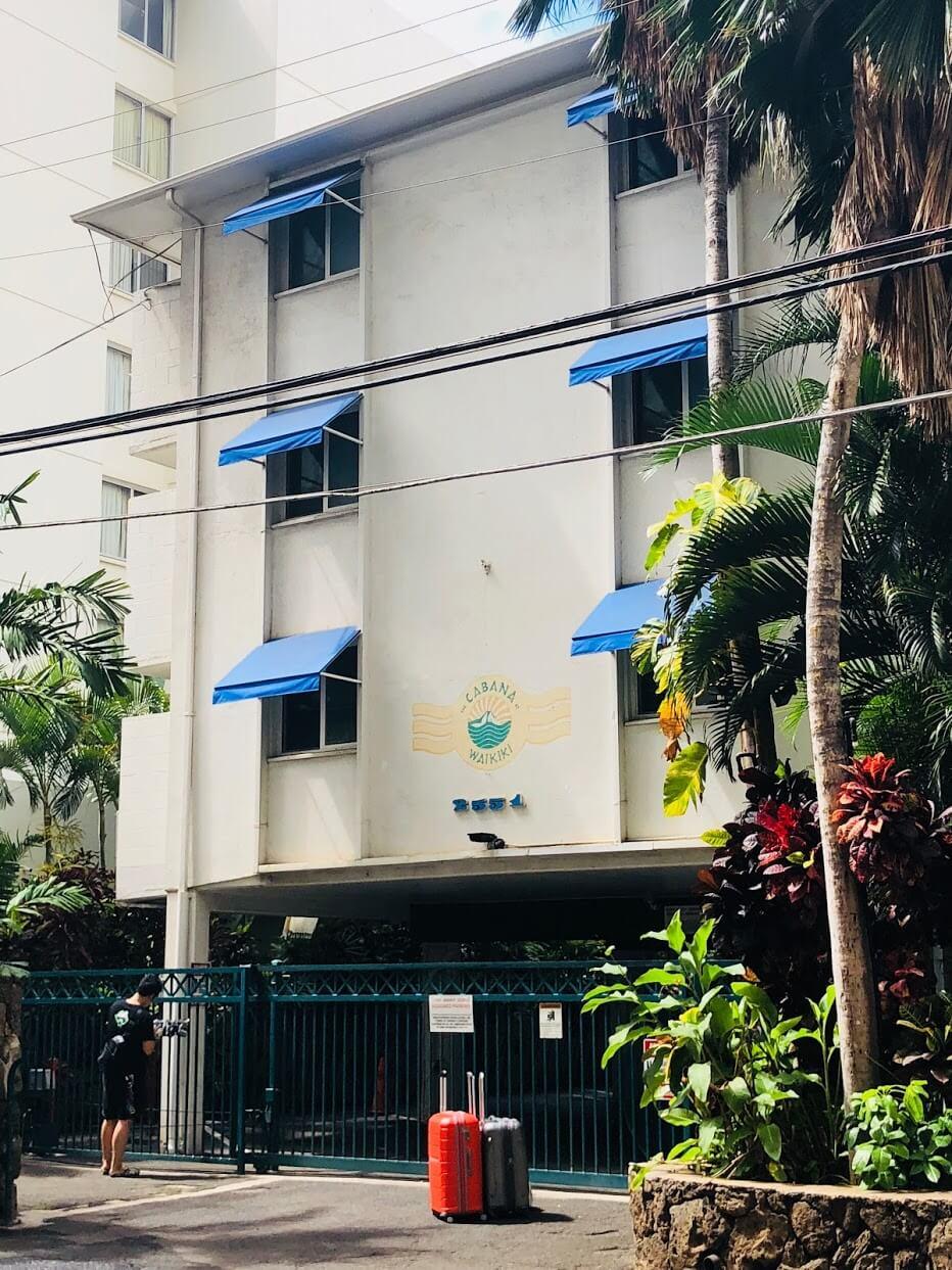 Cabana At Waikikiの外観