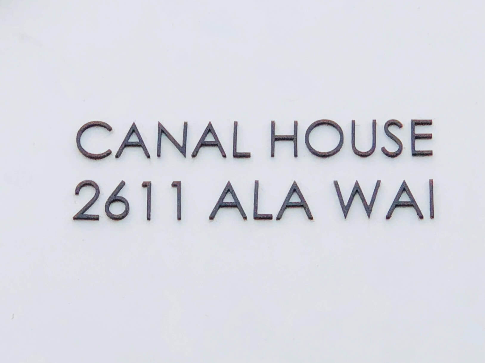 Canal Houseのロゴ