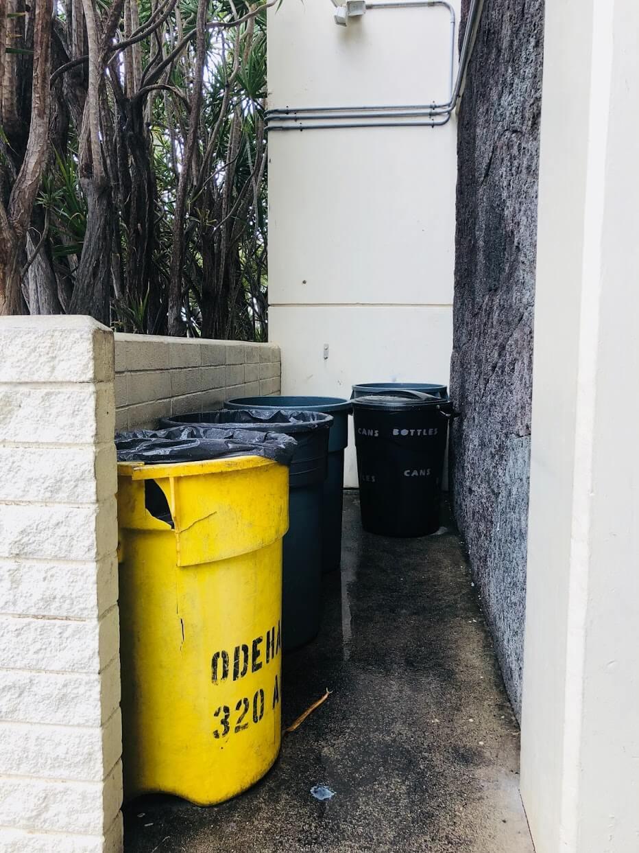 Hale O Nai`aのゴミ捨て場
