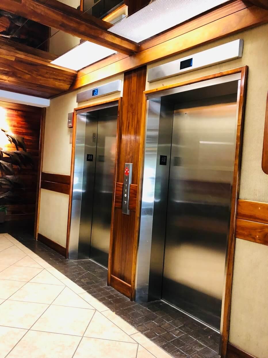 Holiday Villageのエレベーター
