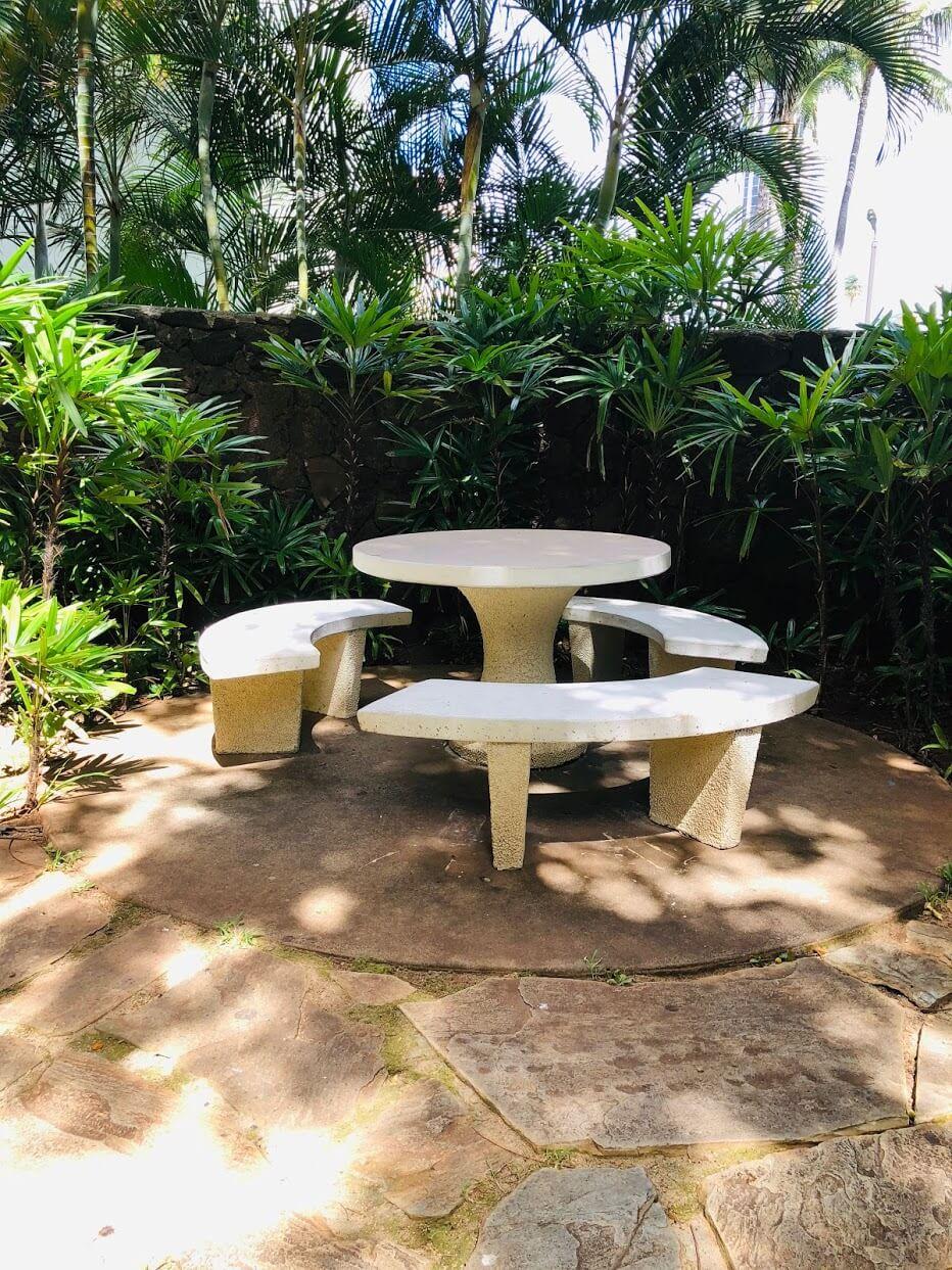 Holiday Villageの中庭
