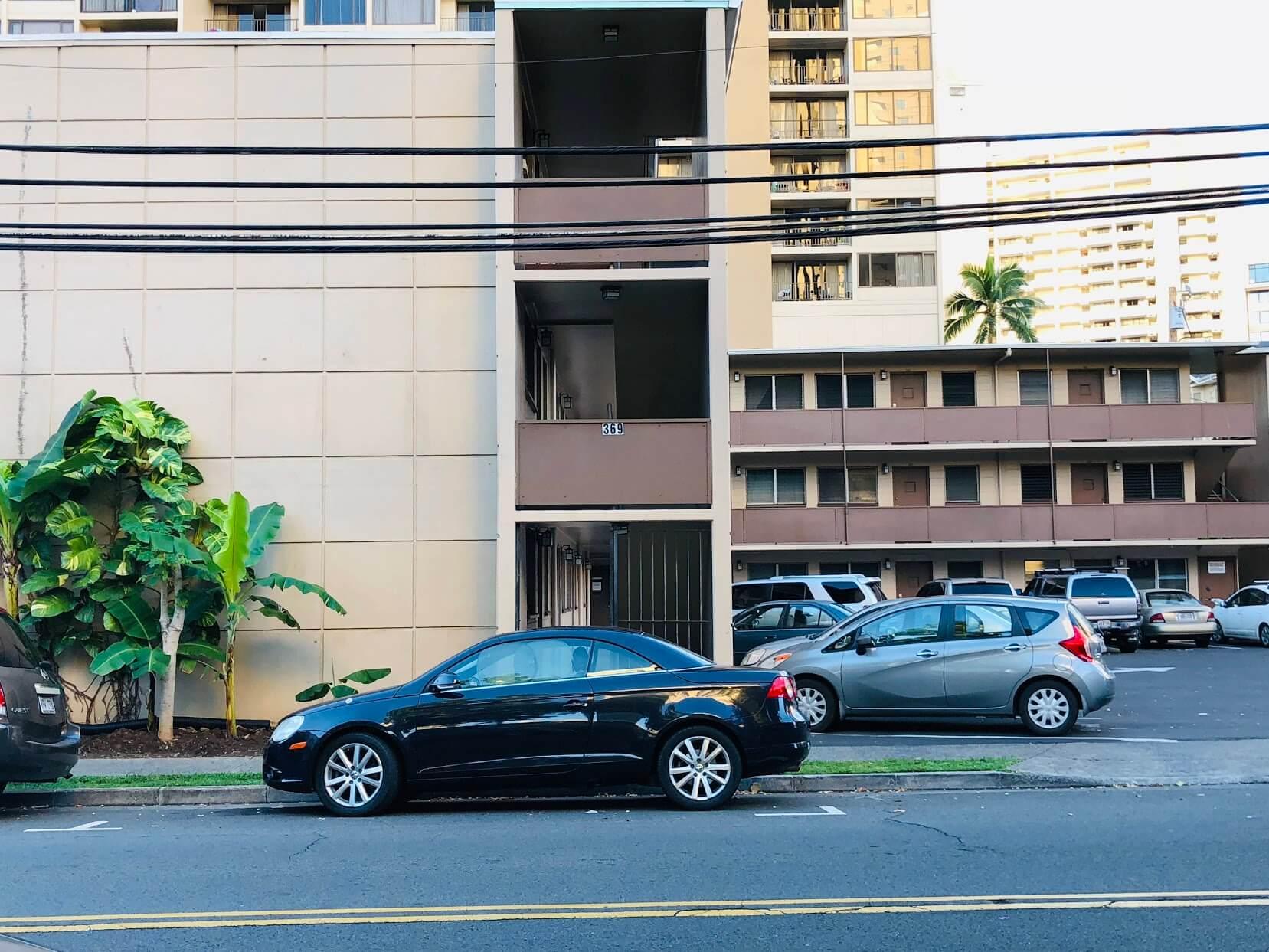 Laniakea Apartmentsの外観