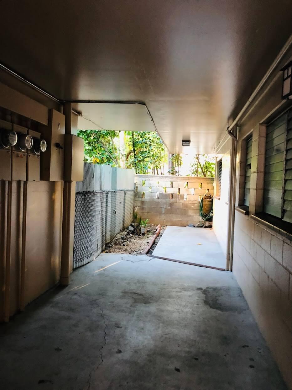 Laniakea Apartmentsの廊下