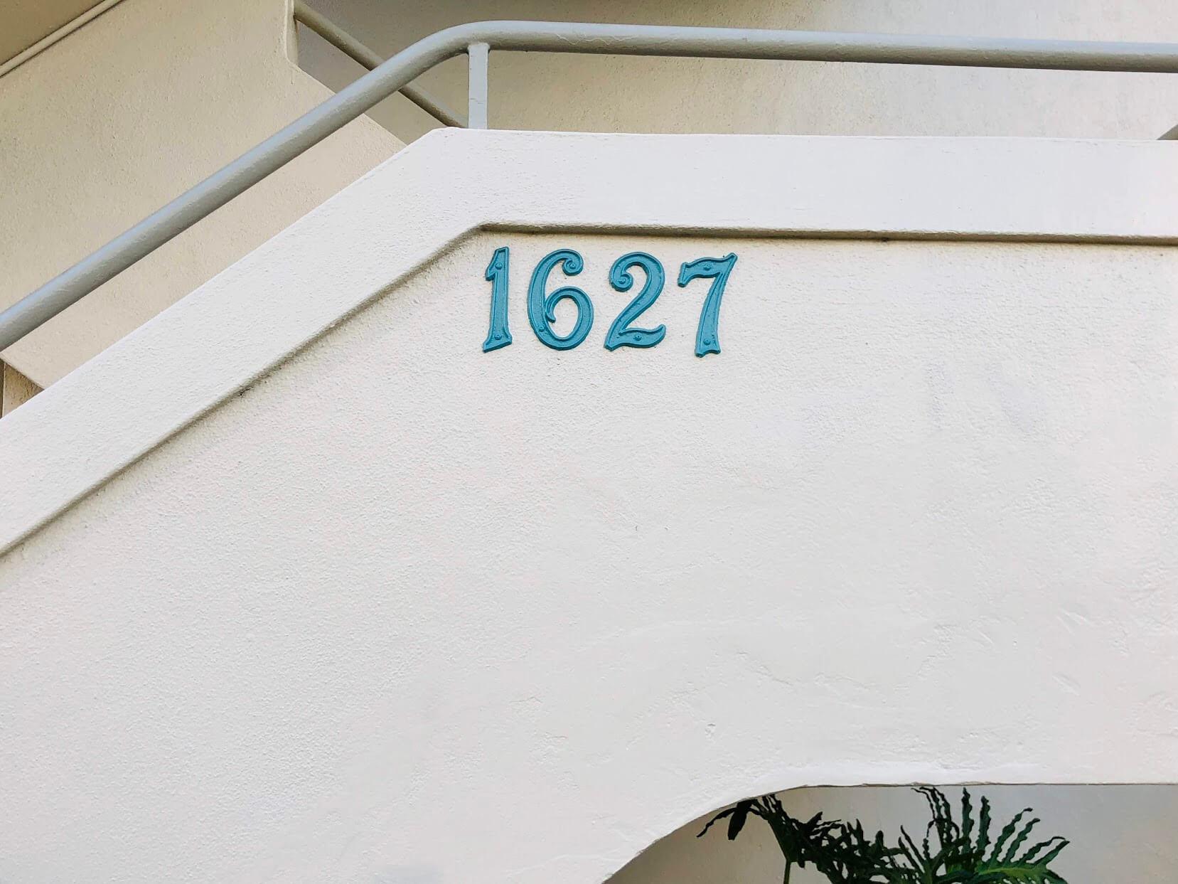 Marina Gardensの番号