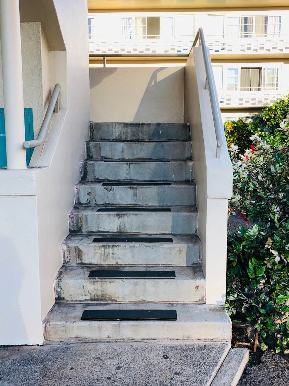 Marina Gardensの階段