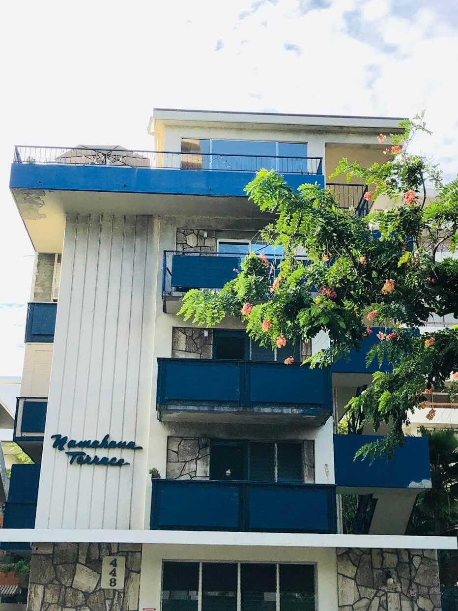 Namahana Terraceの外観