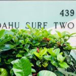 Oahu Surf Twoの看板