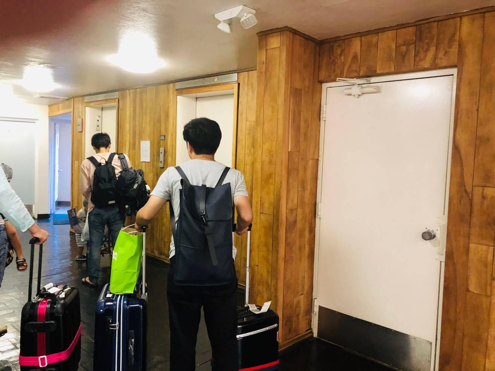 Royal Alohaのエレベーター