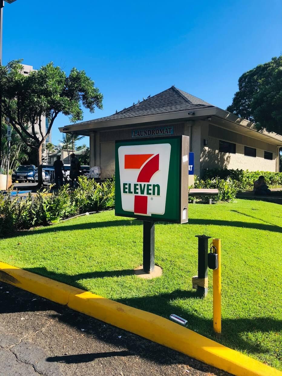Royal Alohaのセブンイレブン