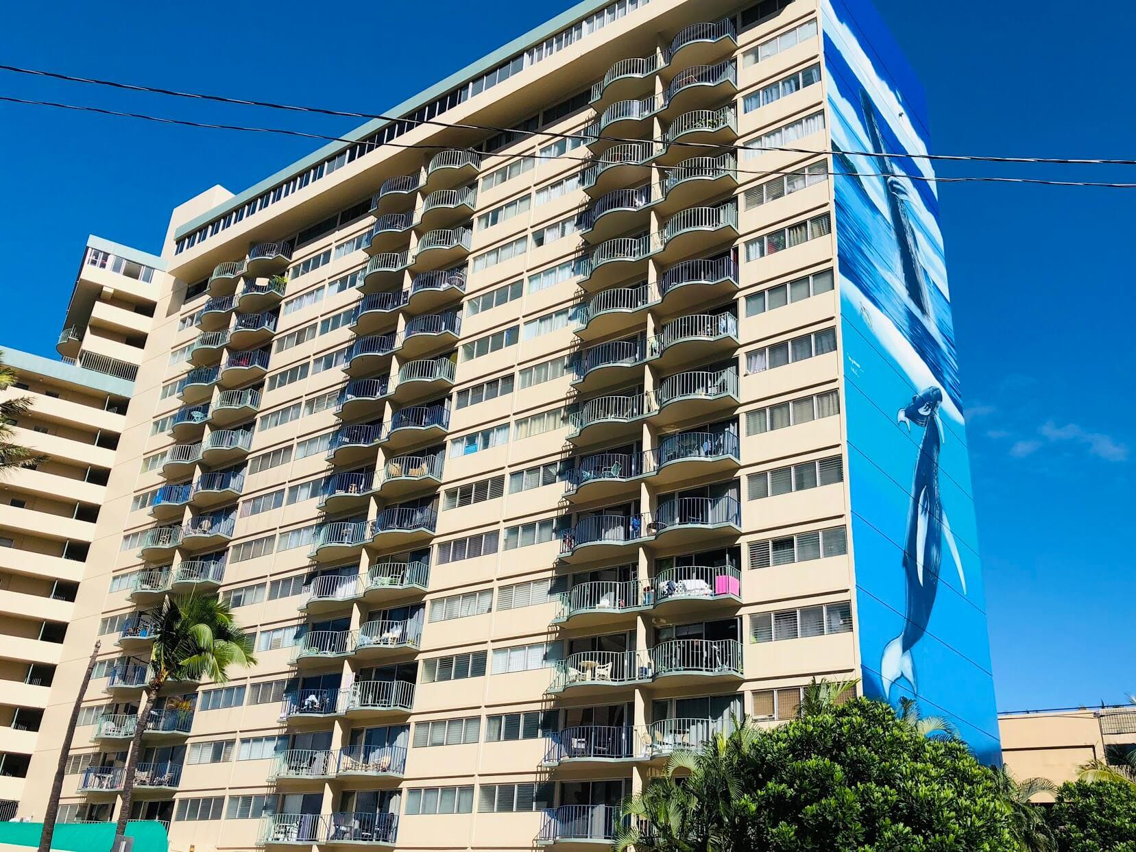 Royal Alohaの外観