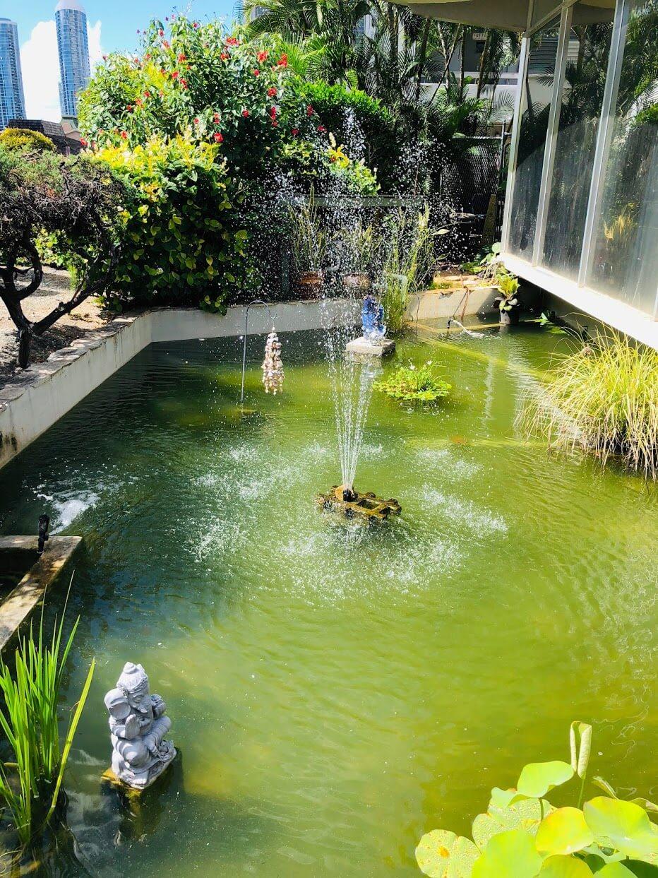 Rycroft Terraceの噴水
