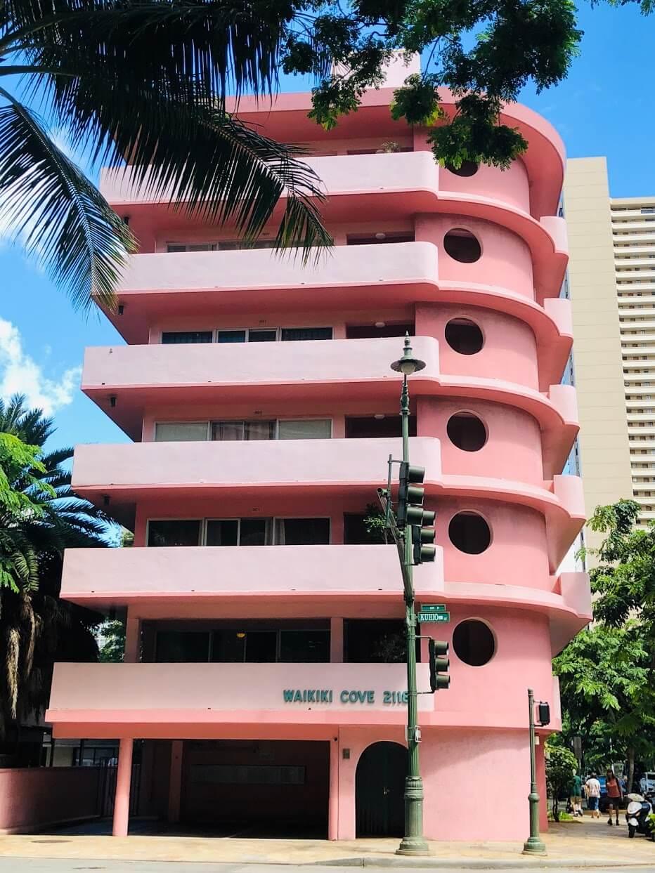 Waikiki-Coveの外観