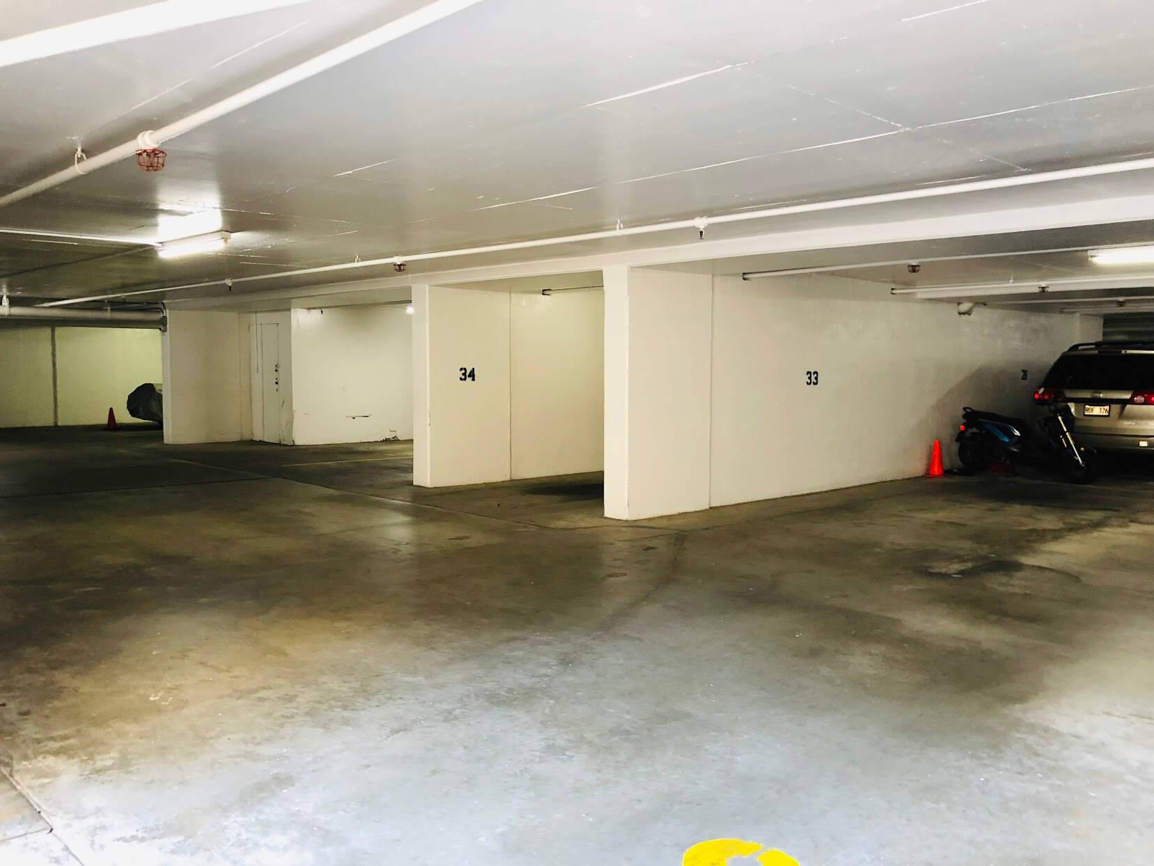 250 Ohuaの駐車場
