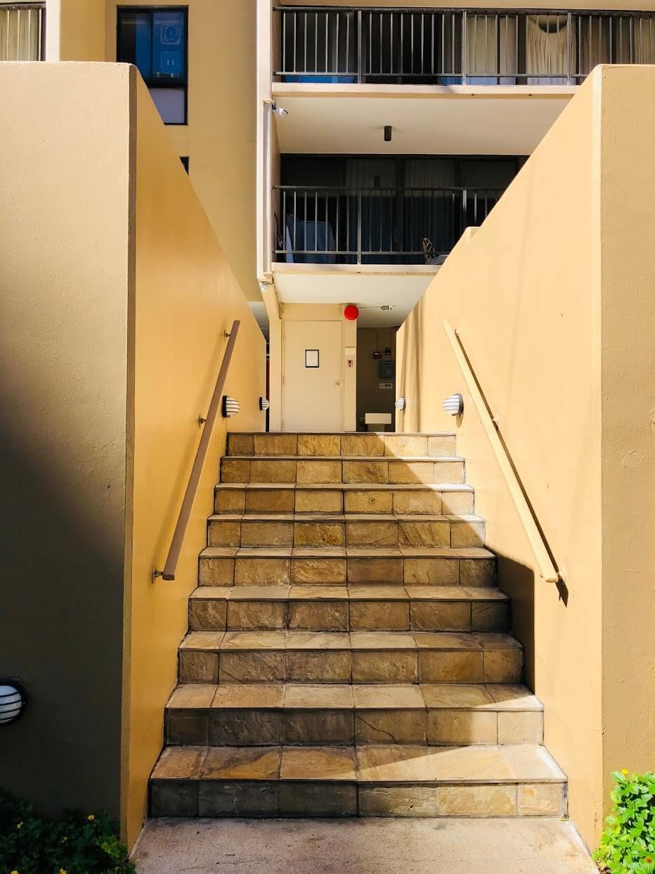 250 Ohuaの階段