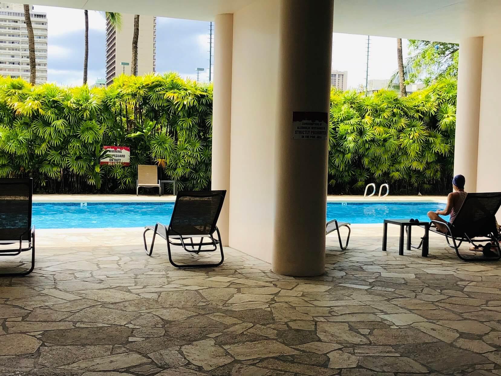 500 Ala Wai Plazaのプール