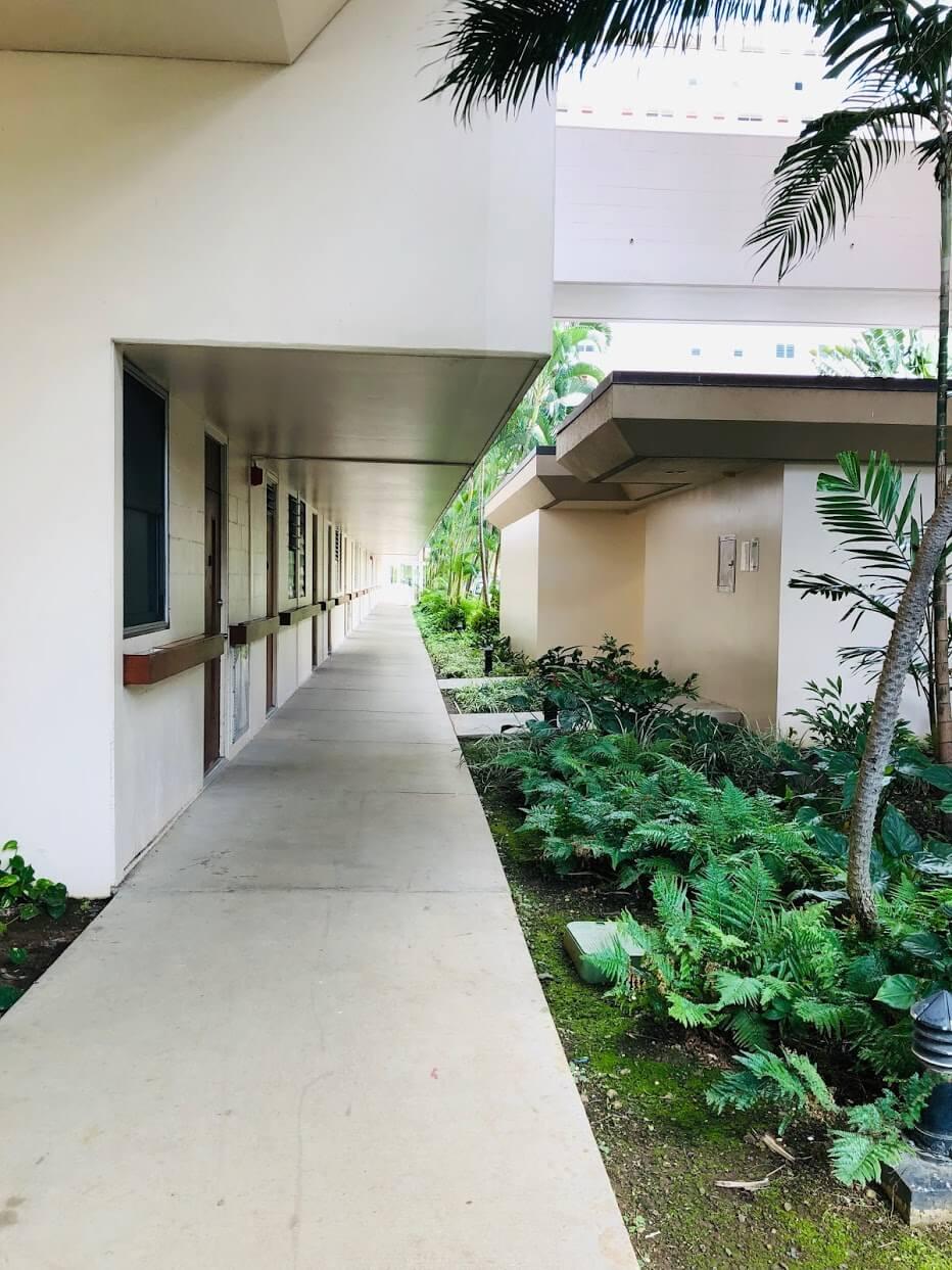 500 Ala Wai Plazaの敷地