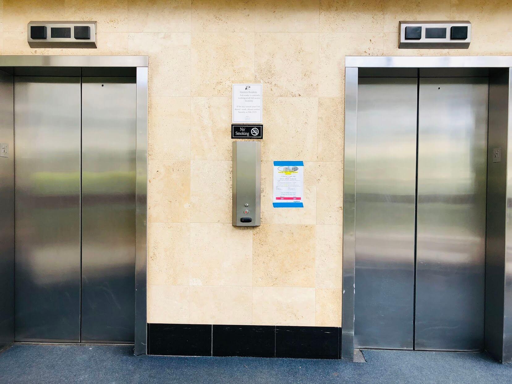 500 Ala Wai Plazaのエレベーター