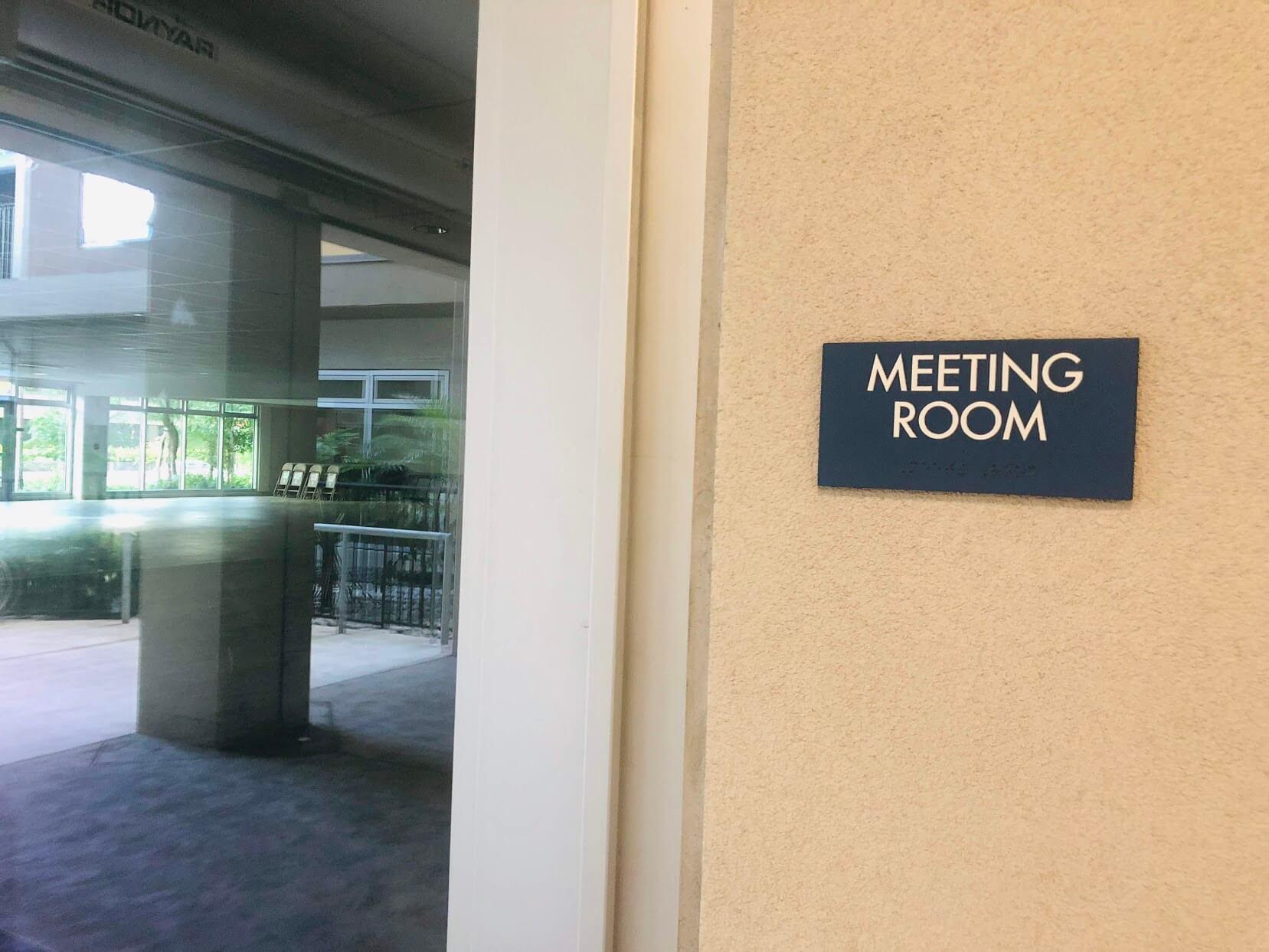 801 South Stのミーティングルーム