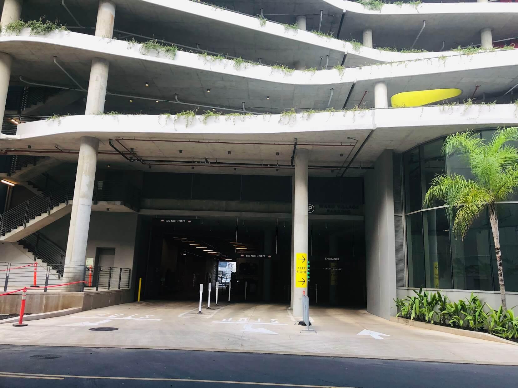 Ae'oの駐車場