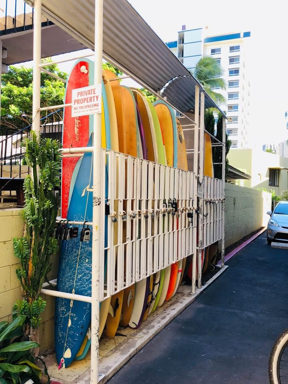 Ainahau Gardensのサーフボード