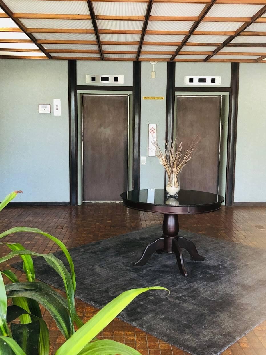 Ala Wai Coveのエレベーター