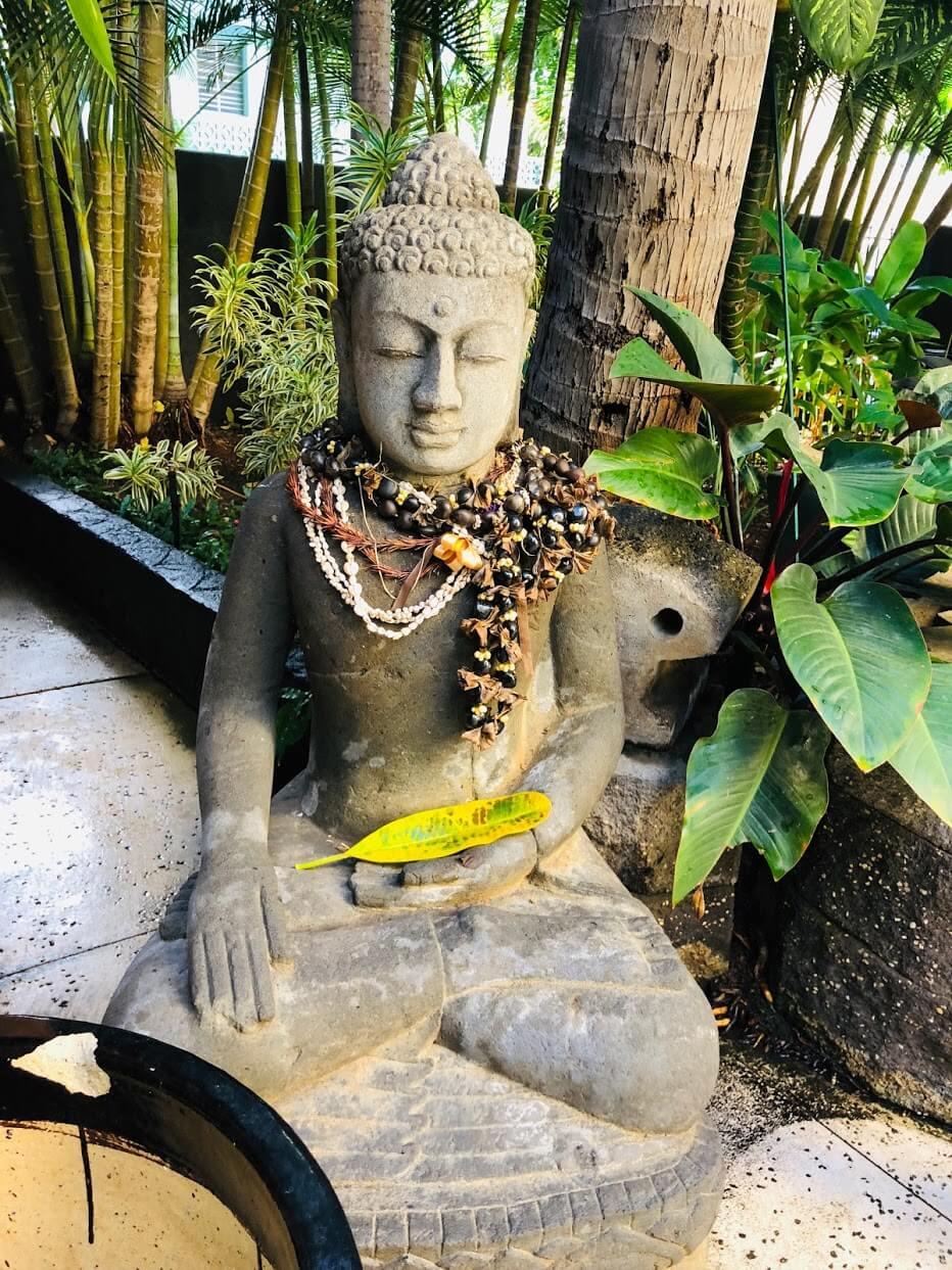 Bamboo Waikikiのモニュメント