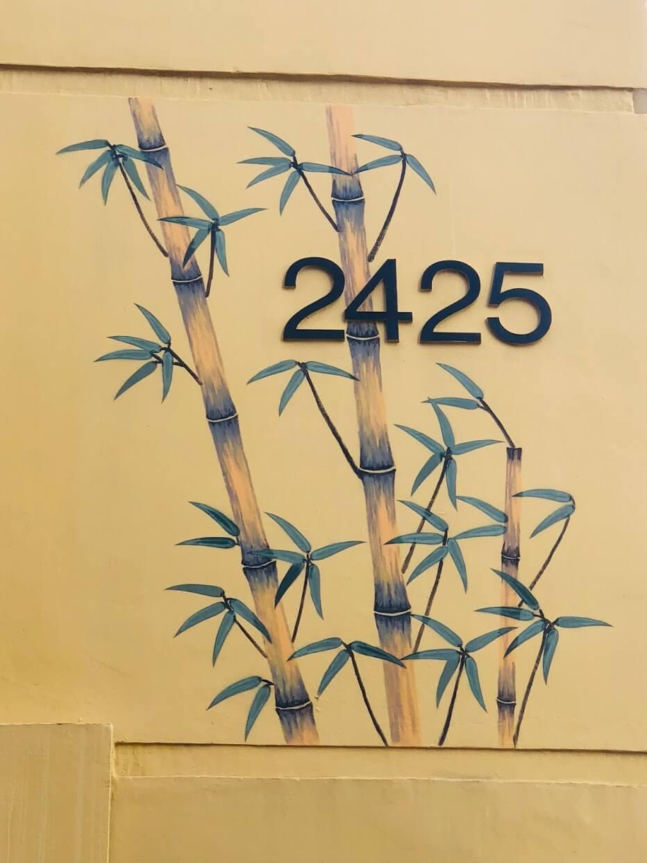 Bamboo Waikikiの番号