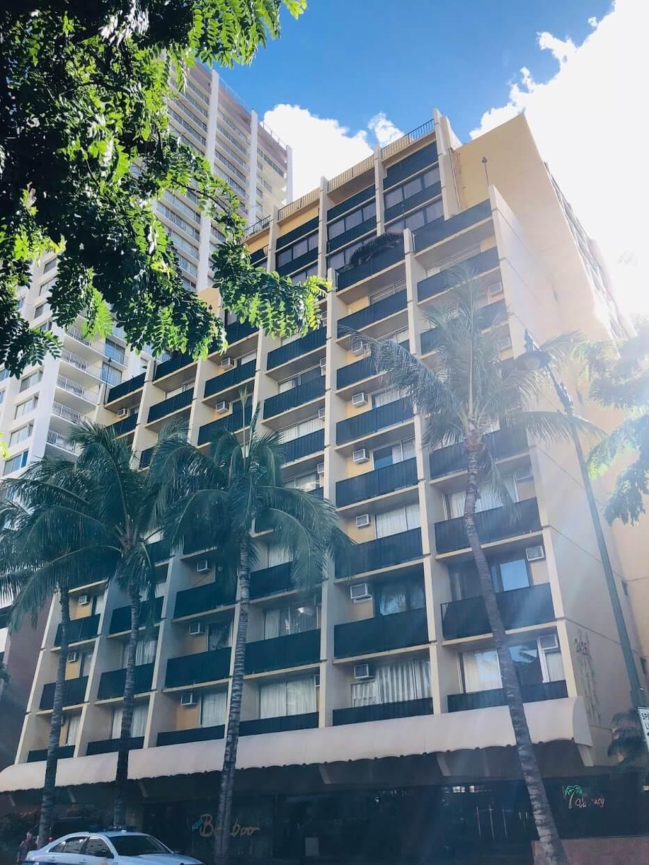 Bamboo Waikikiの外観