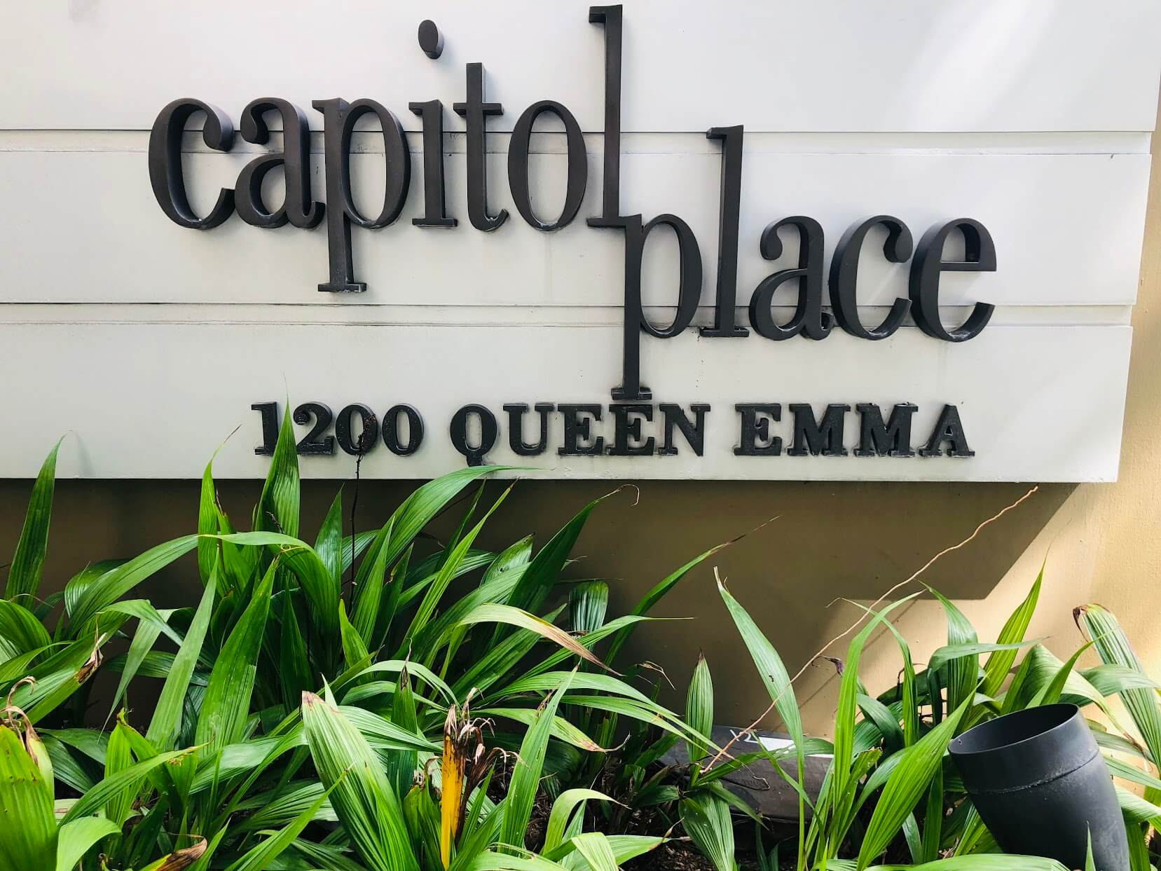 Capitol Placeの看板