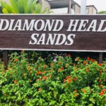 Diamond Head Sandsの看板