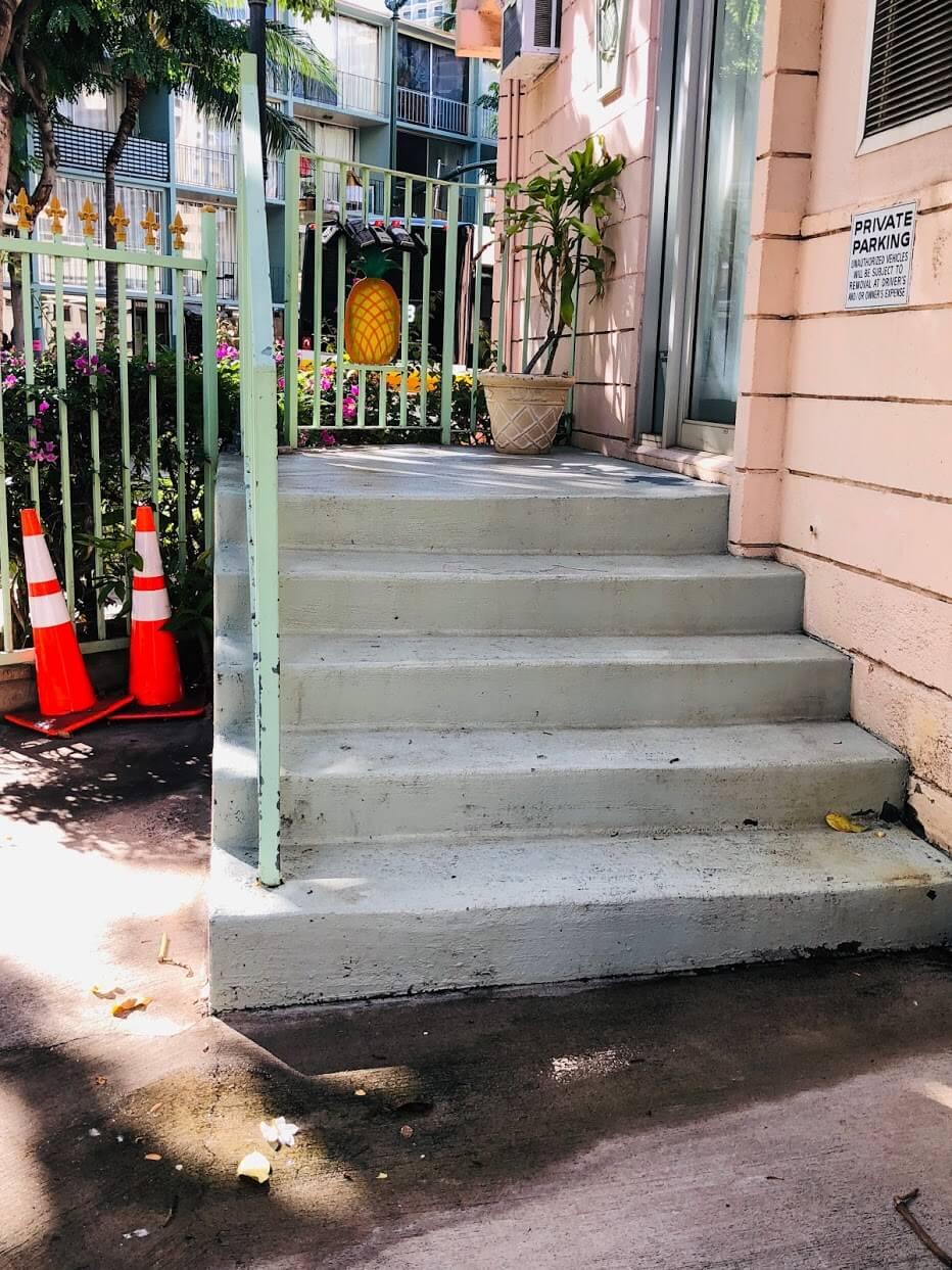 Hale Huiの階段