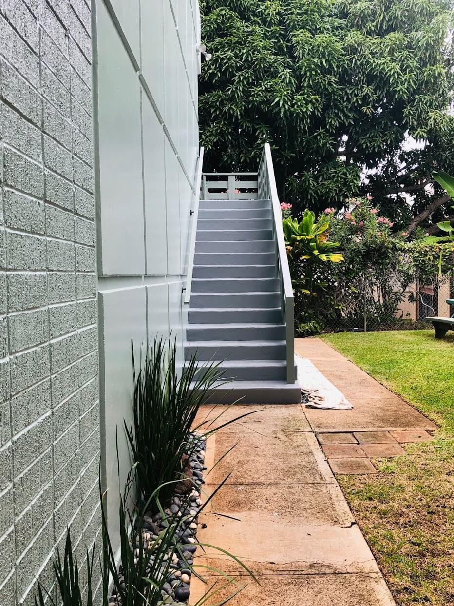 Hale Pua Leiの階段