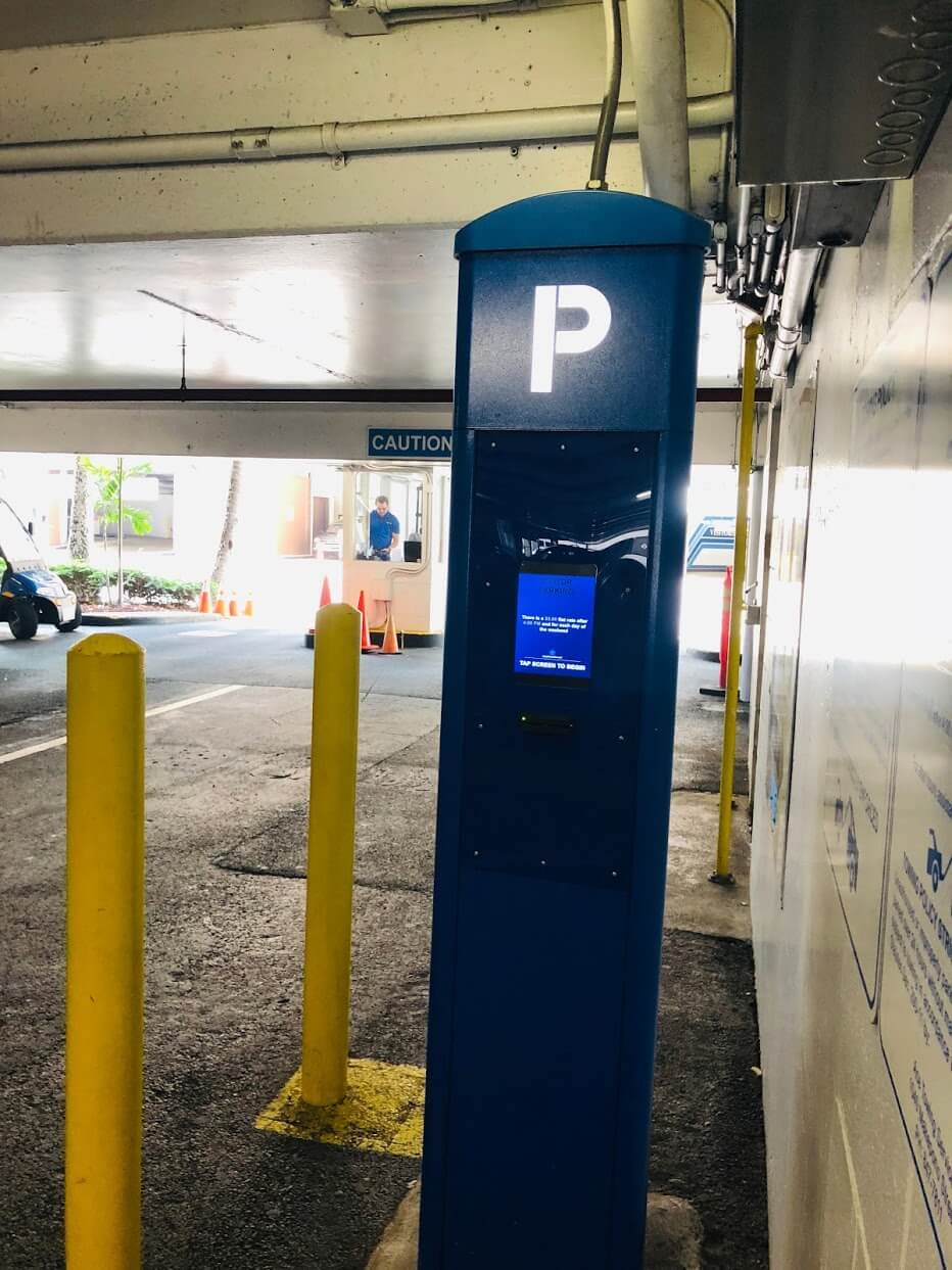 Harbor Squareの駐車場