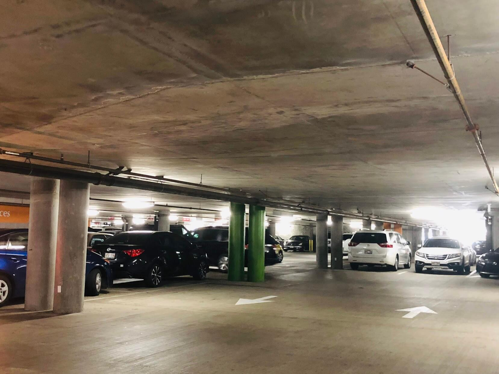 Hokuaの駐車場