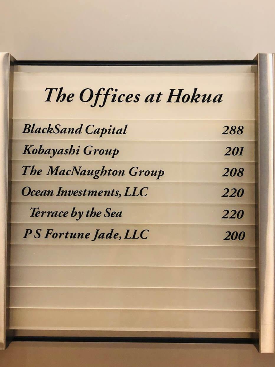 Hokuaの案内