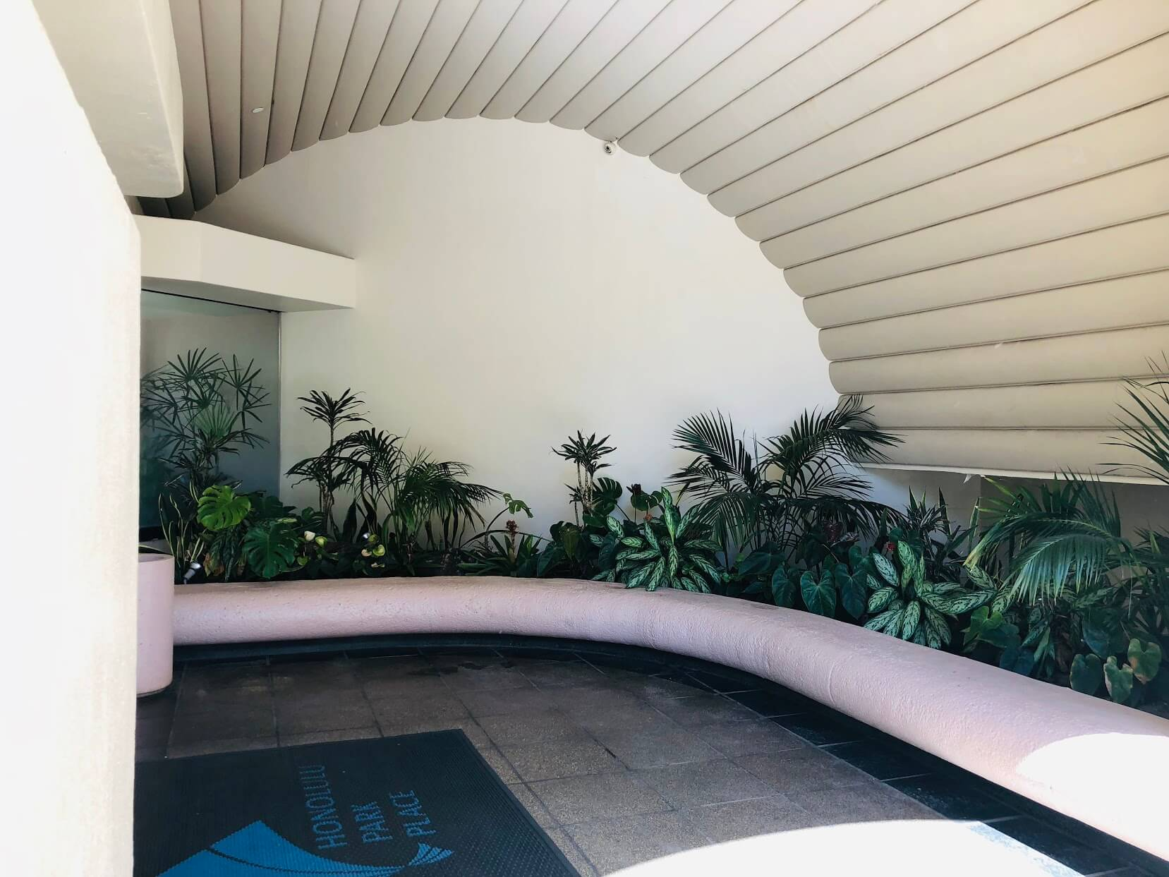 Honolulu Park Placeのエントランス