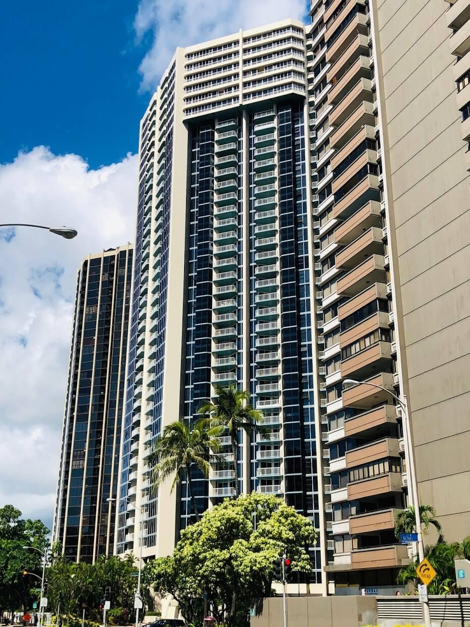 Honolulu Park Placeの外観