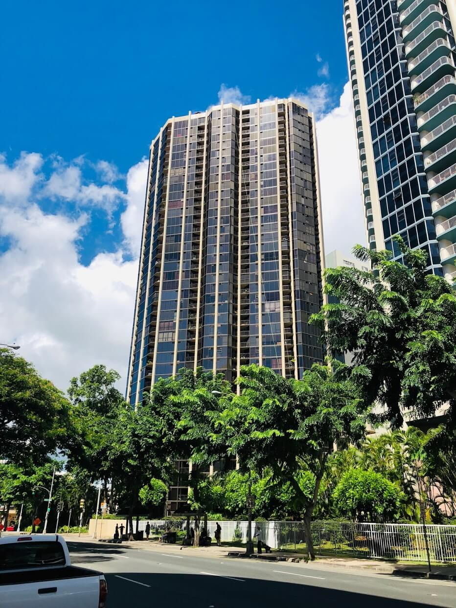Honolulu Towerの外観