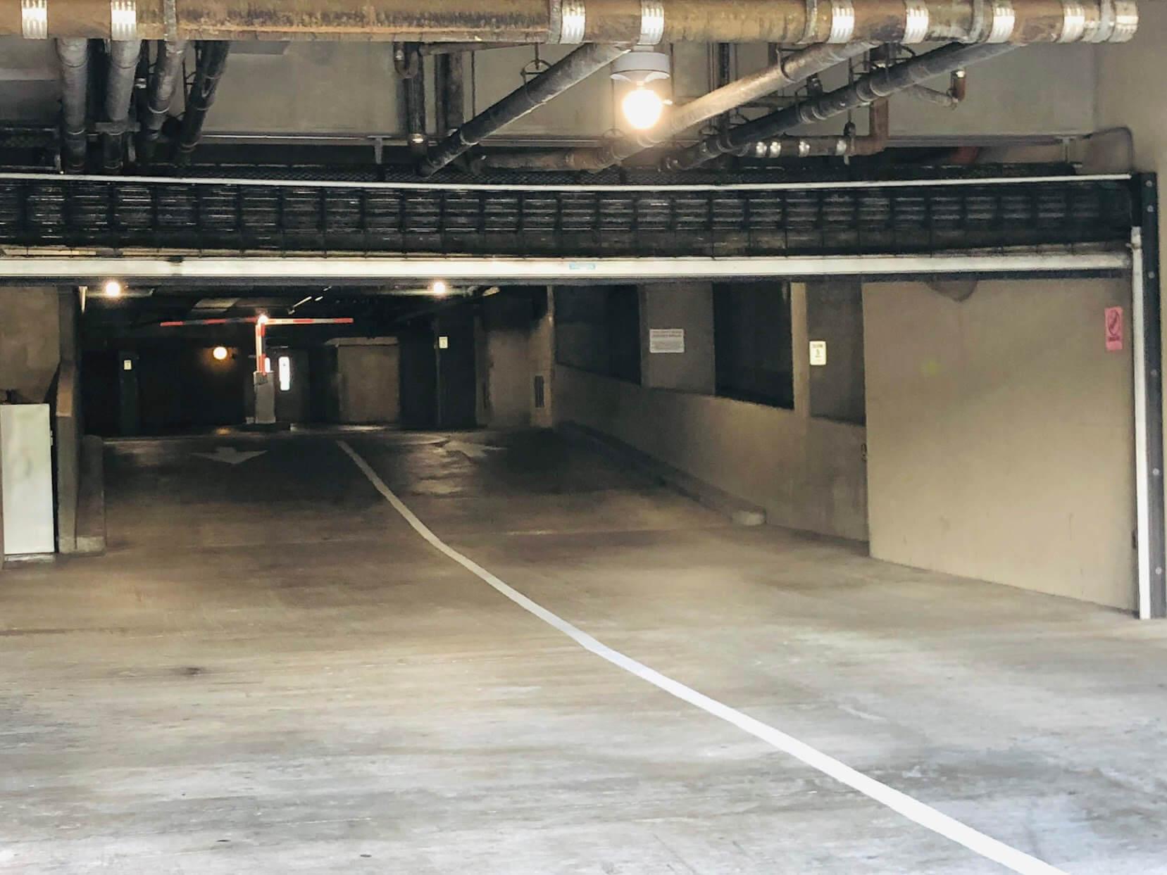 Honuakahaの駐車場