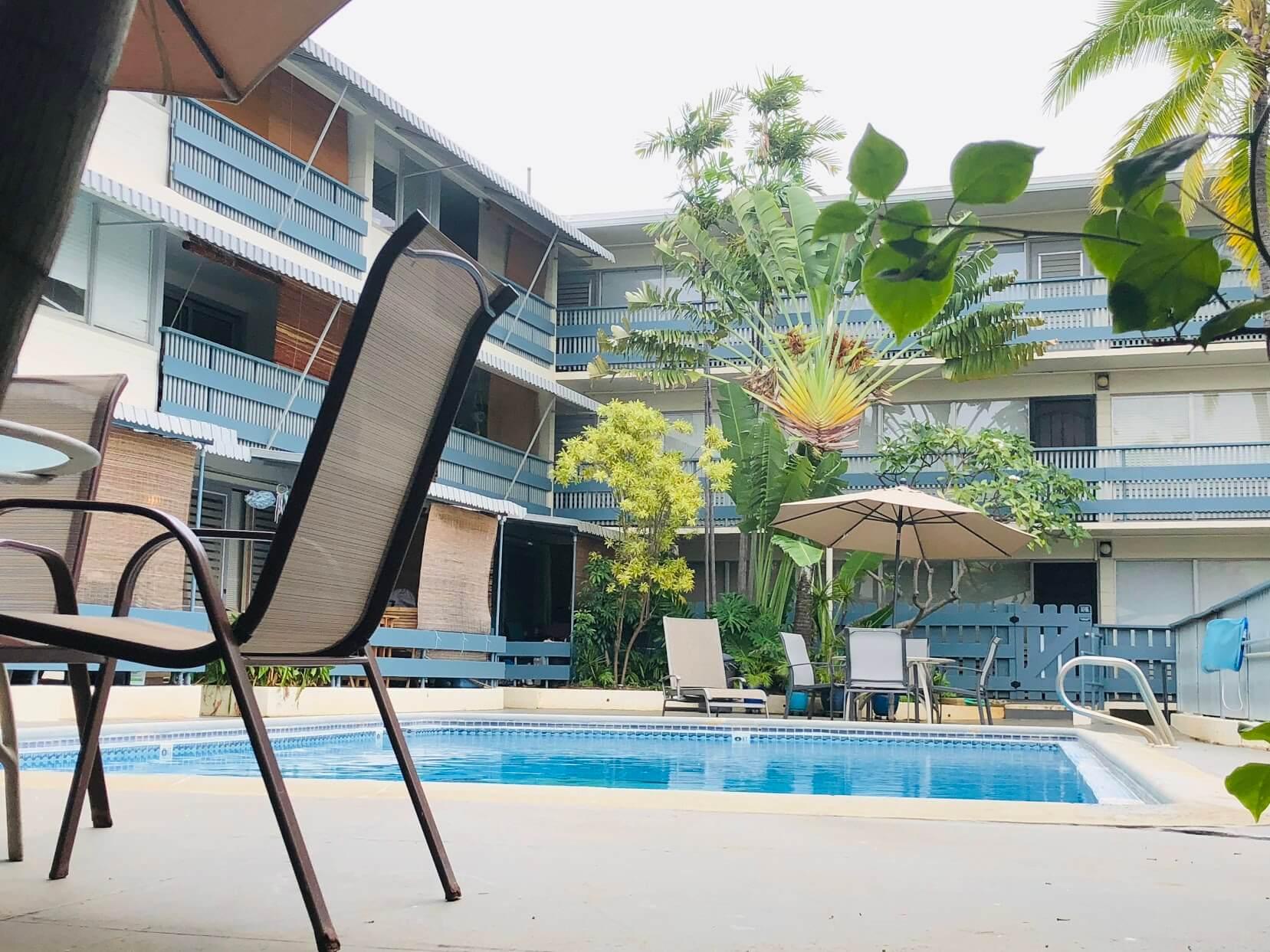 Ilima Apartmentsのプール